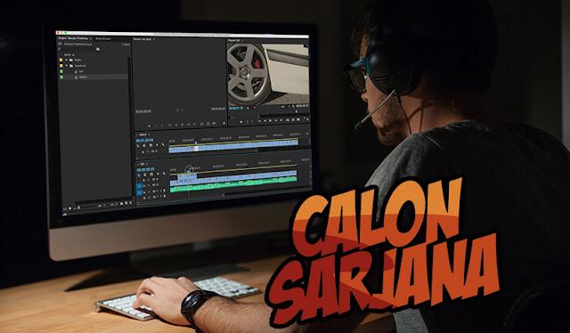 Cara Membuat Video Seperti Calon Sarjana dan The Shiny Peanut