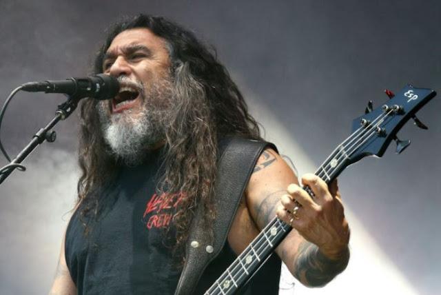 Tom Araya, guitarrista e líder do Slayer: anúncio do fim da banda por meio de vídeo (Foto: Wikimedia Commons / Portal TMDQA)