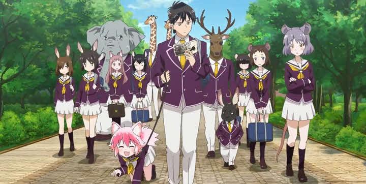 Seton Academy: Join the Pack! (Murenase! Seton Gakuen)