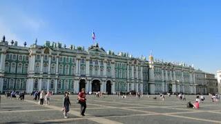 Museu Hermitage em São Petersburgo