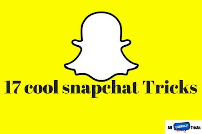 Top 17 new cool snapchat tricks
