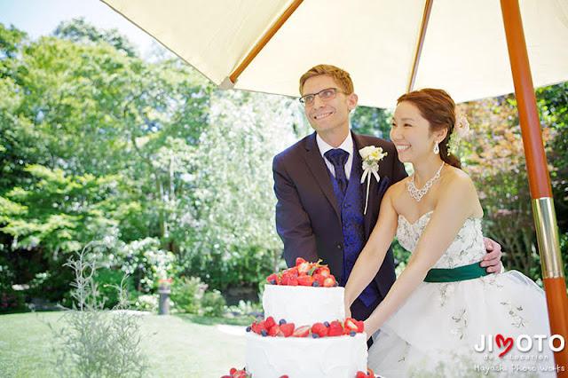 北野ガーデンの結婚式撮影