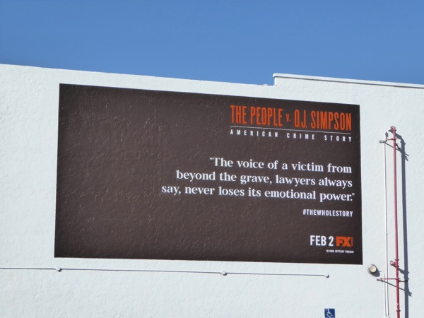 People v OJ Simpson quote wall mural