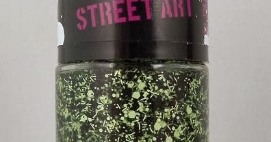 Review Amp Swatches Maybelline Color Show Street Art Nail Polish In Green Graffiti Nouveau Cheap