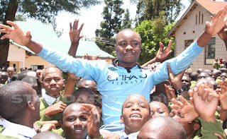 KCSE Results Top Candidate 2013 (Kingori Tom Wanderi)