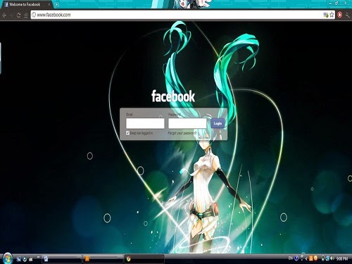 How to Change Facebook Themes with Chrome Extension