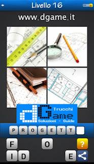 PACCHETTO 7 Soluzioni Trova la Parola - Foto Quiz con Immagini e Parole livello 16