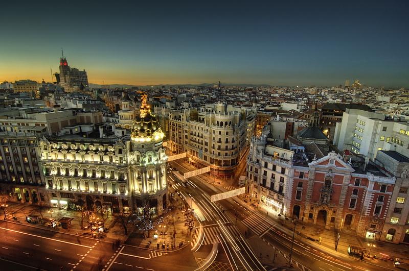 Madri, Capital da Espanha