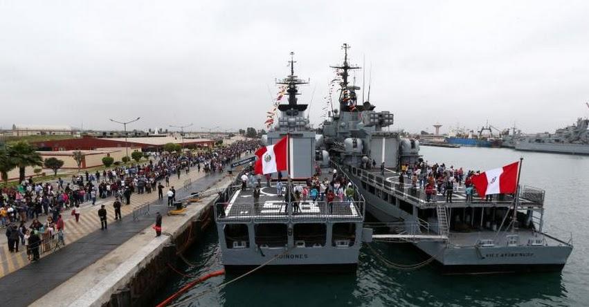 La Marina de Guerra del Perú abre sus puertas al público para que conozca la Base Naval del Callao