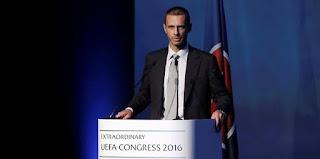 Aleksander Ceferin o έβδομος Πρόεδρος της UEFA