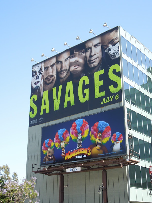 Giant Savages movie billboard