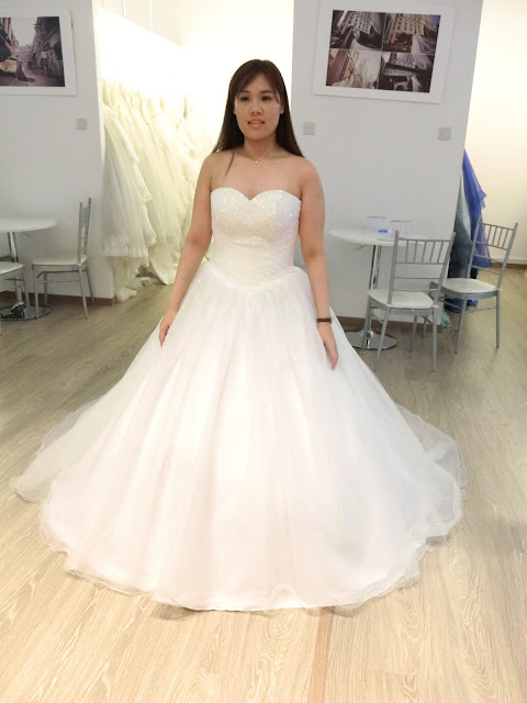 Jocie Lilin: Wedding Planning: Gown Selection @ Yvonne Creative Bridal
