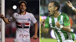 Sao Paulo vs Atlético Nacional en Semifinales Copa Libertadores 2016