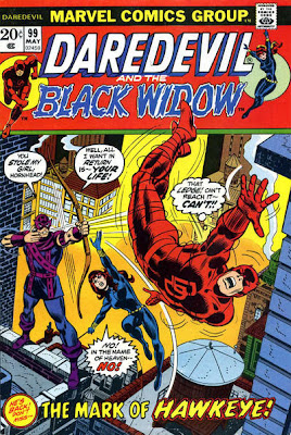 Daredevil and the Black Widow #99, Hawkeye