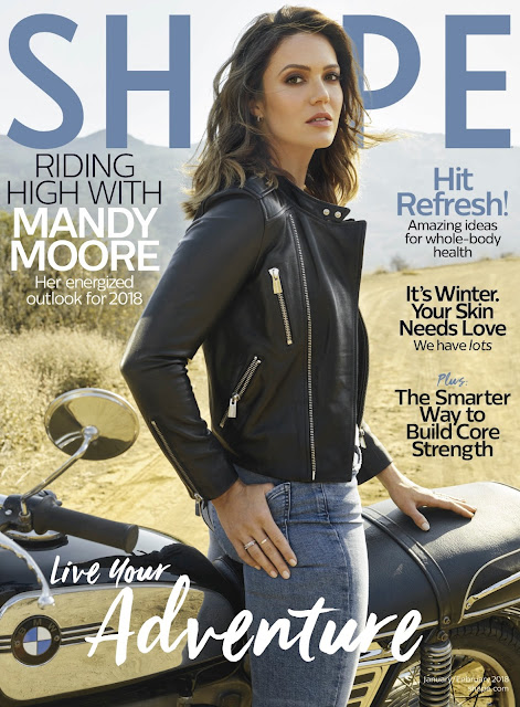 f2b404aecfd5 Mandy Moore on the January 2018 Cover of Shape Magazine