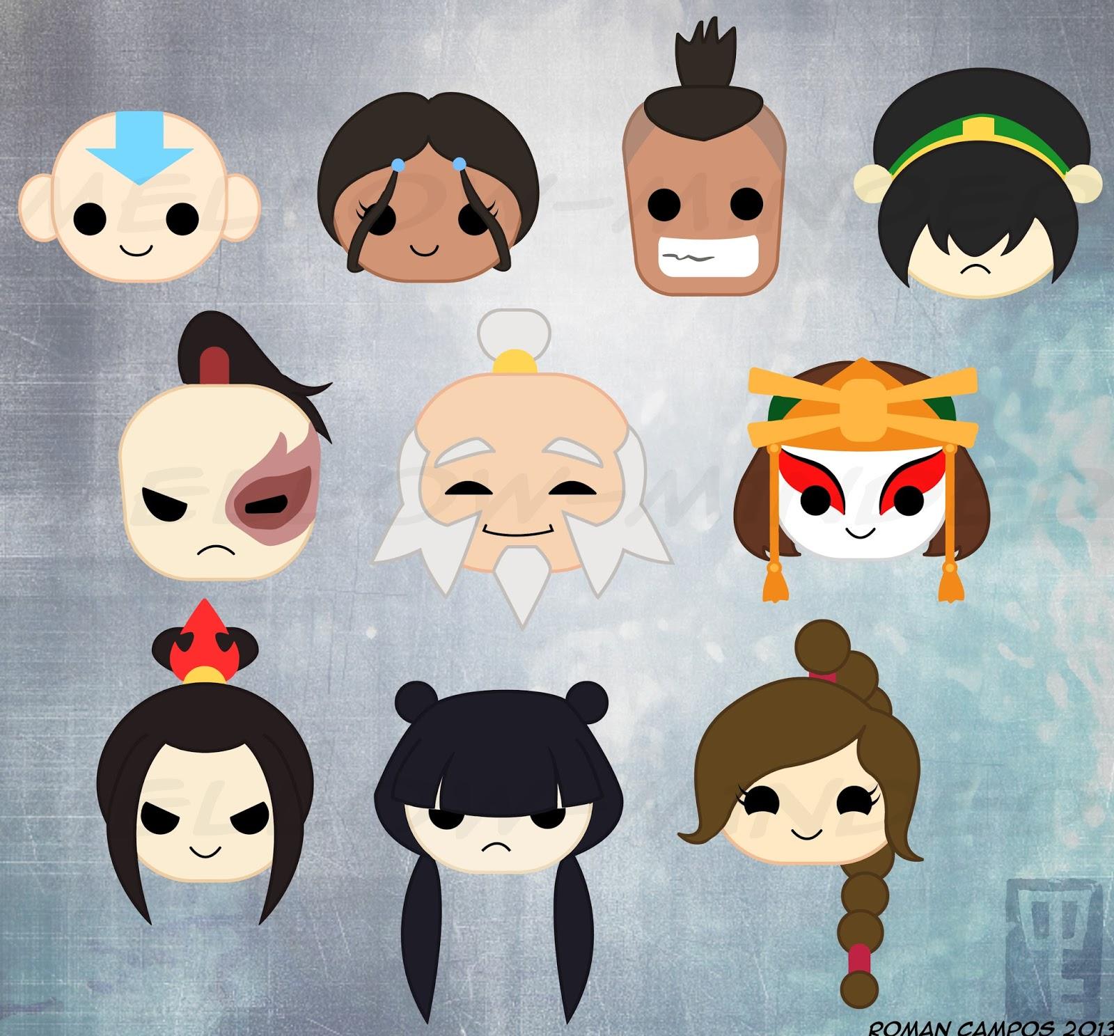 Avatar 2 Cast: Roman Campos Artwork: August 2013