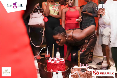 Photos: Girl Talk March Birthday Hangout With Ghanaian Actress Ahoufe Patri