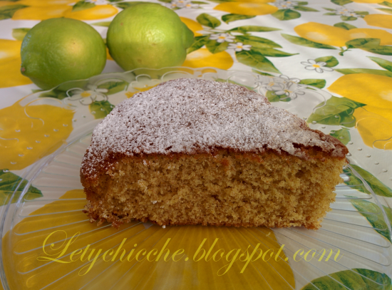 Torta a limone - Letychicche