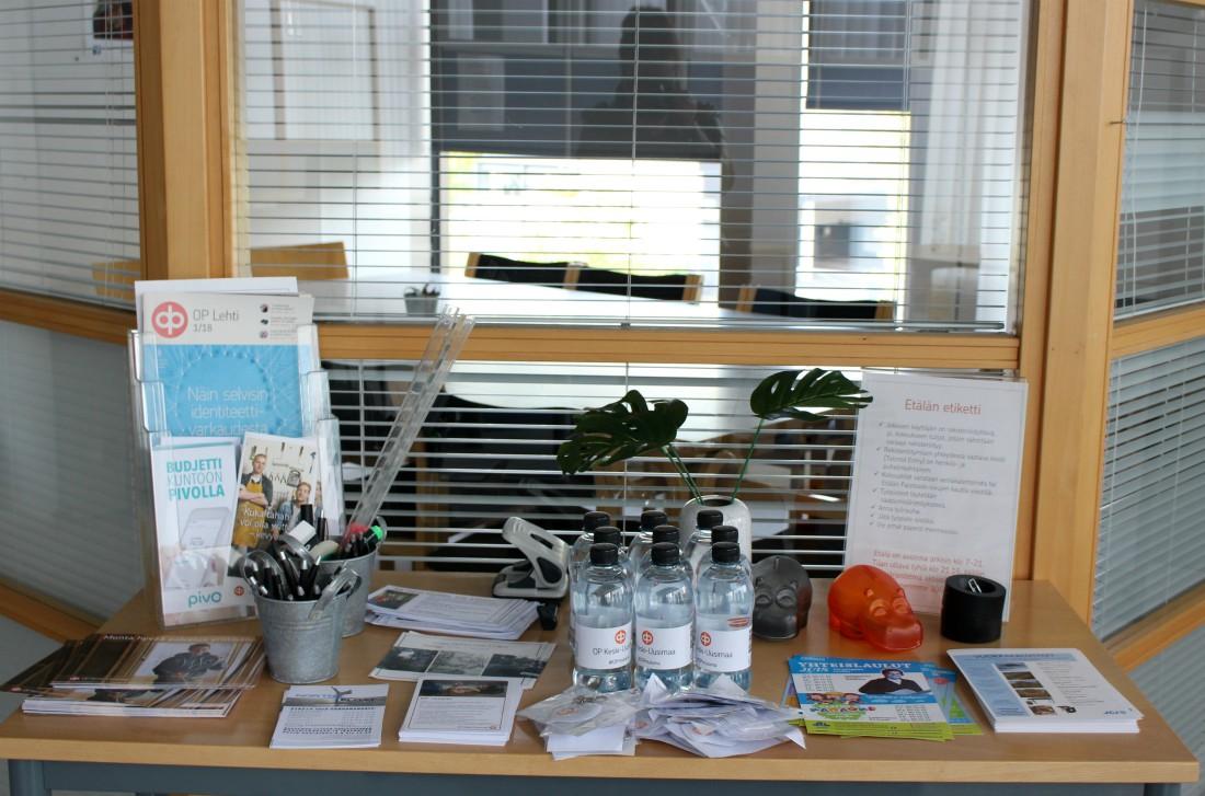 Etälä, yhteisöllinen työtila, Järvenpää, Keski-Uudenmaan Osuuspankki