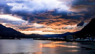 Juneau, Alaska, gorgeous mountains