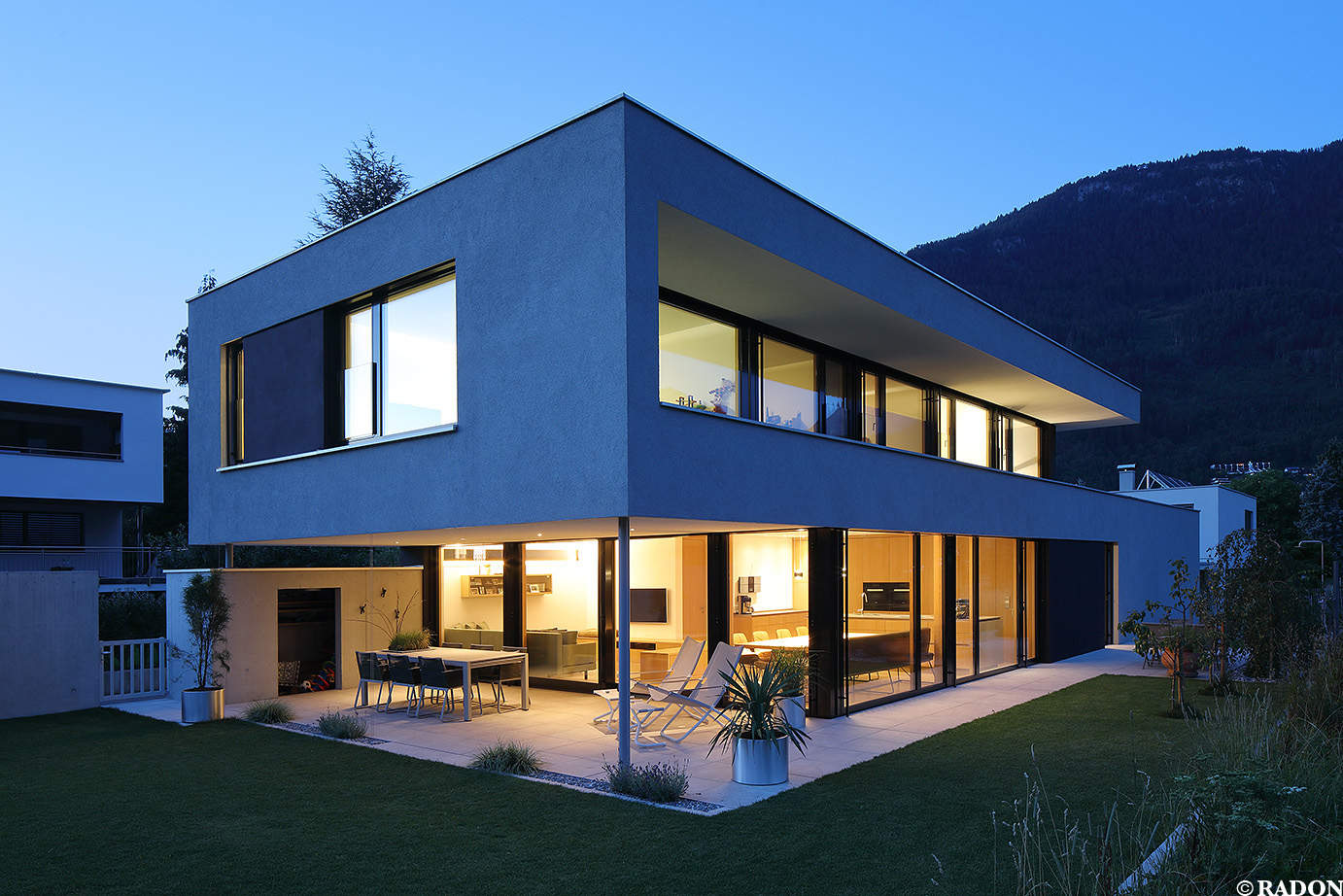 Radon photography norman radon haus u for Architektur haus