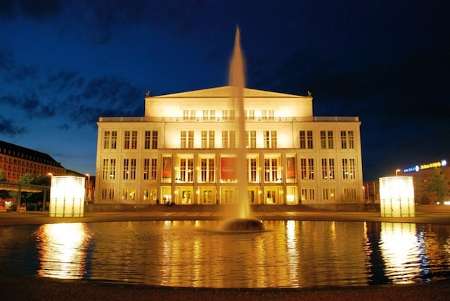 Opera House em Leipzig