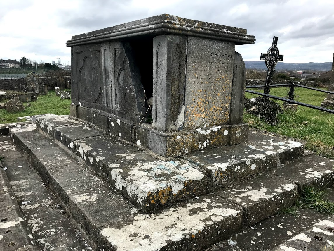 The Tomb Of Bishop John Young In Saint Patricks Graveyard Limerick Photograph Patrick Comerford 2018