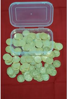 Lakshmi Pooja Coins Box