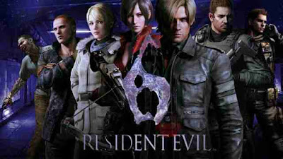 5 characters of Resident evil 6