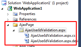 jQuery Ajax Duplicate UserId Validation in Asp Net Without Page