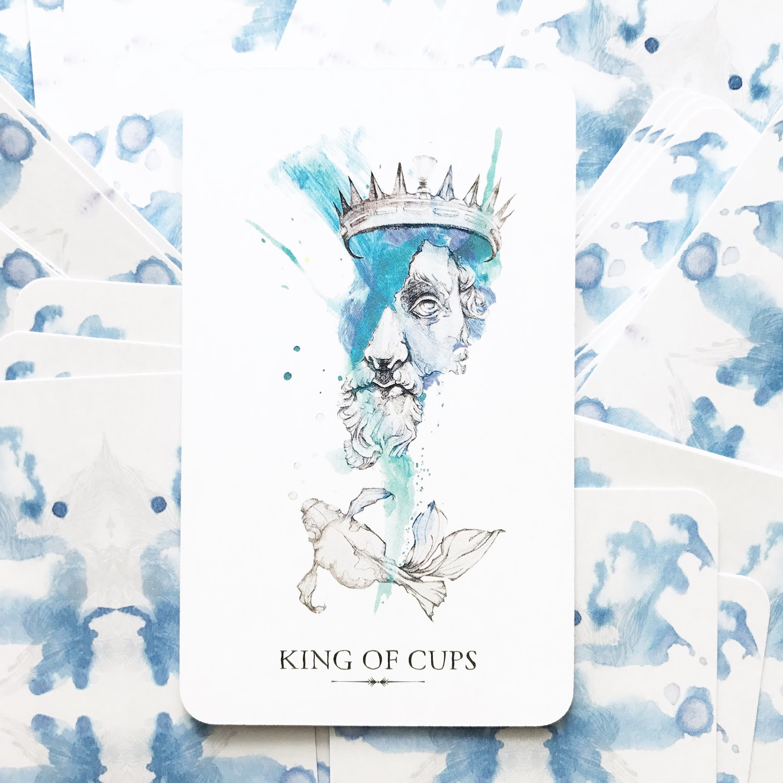 Tarot Reflections: The King of Cups   The Curious Cardslinger