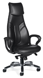 Global Total Office High Back Obusforme Chair