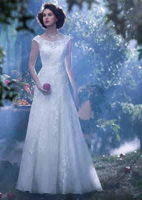 vestido noiva princesa disney wedding dress branca de neve snow simples justo elegante classico brilhoso moderno estiloso