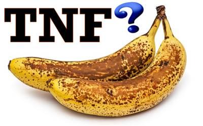 El Factor de Necrosis Tumoral en bananas no existe