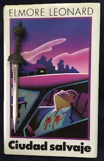 Portada del libro Ciudad salvaje, de Elmore Leonard