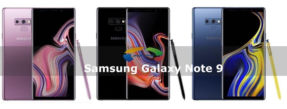 سعر ومواصفات موبايل سامسونج جالكسي نوت 9 - Samsung Galaxy Note 9 2018