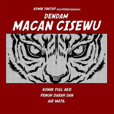 Komik Strip Lucu 'Dendam Macan Cisewu' Ini Greget Banget Ceritanya