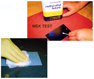 MEK RUB TEST