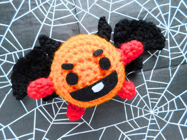 BT21 Vampire Shooky Crochet Pattern