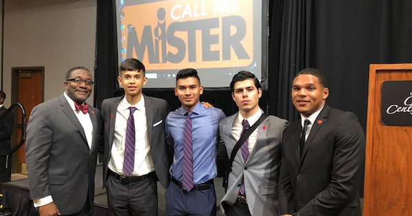 Participants in the Call Me MISTER program in Chicago