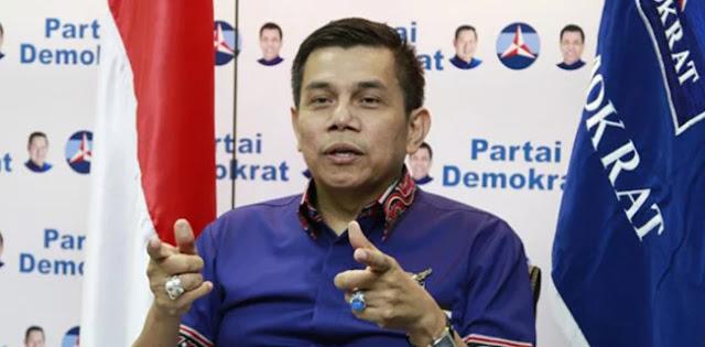 Hinca: HUT Partai Demokrat Tidak Undang Prabowo