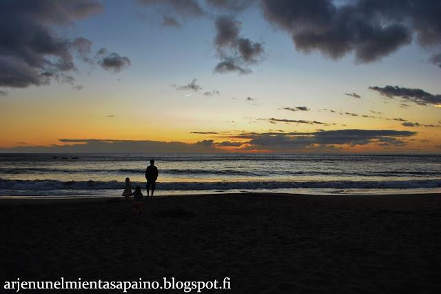 auringonlasku, merenranta, atlantti, lapsiperhe, loma, lämmin, gran canaria