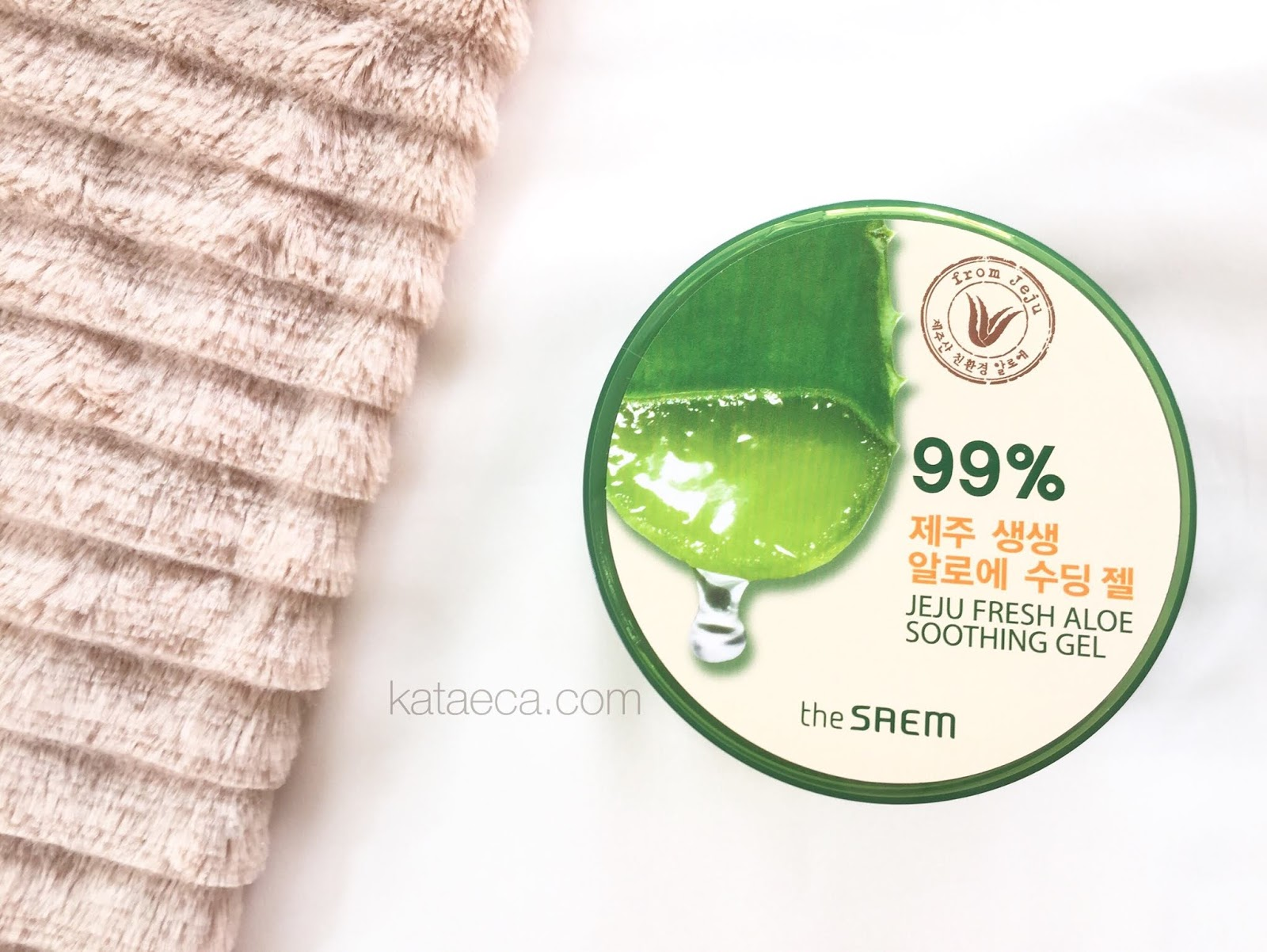The Saem 99 Jeju Fresh Aloe Shooting Gel Review Life Soothing