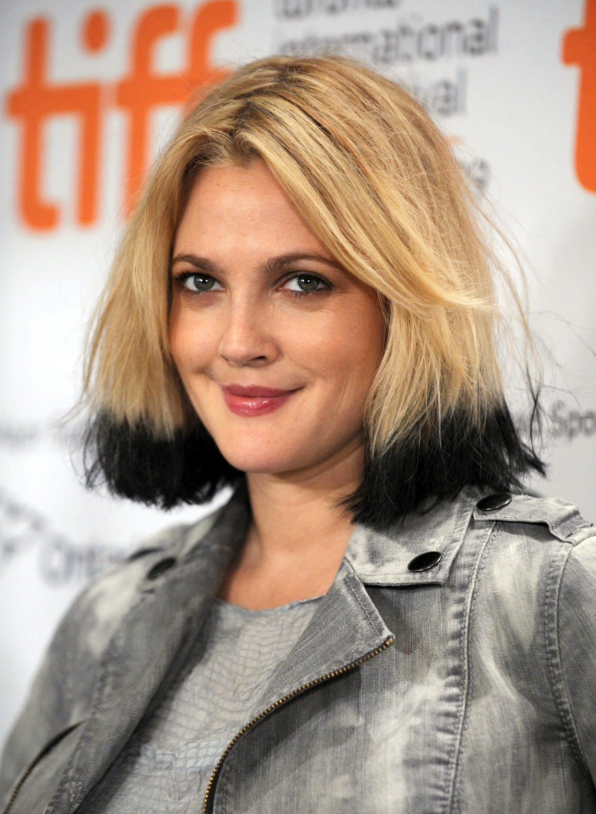 Short Black Hair With Blonde Ends