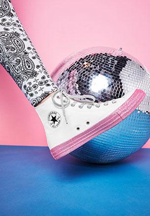 botines Converse X Miley Cyrus