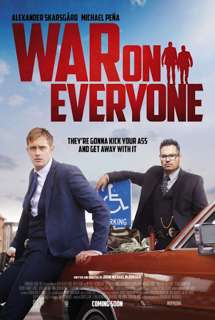 War on Everyone (2016) ταινιες online seires oipeirates greek subs
