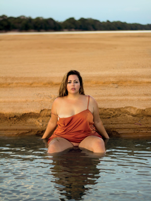 "Fluvia Lacerda, la primera conejita ""plus-size"" de Playboy. FOTO: Playboy"