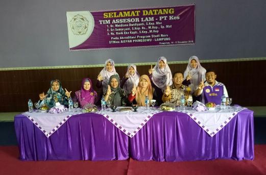 Assesmen Akreditasi Program Studi Profesi Ners STIKes Aisyah Pringsewu