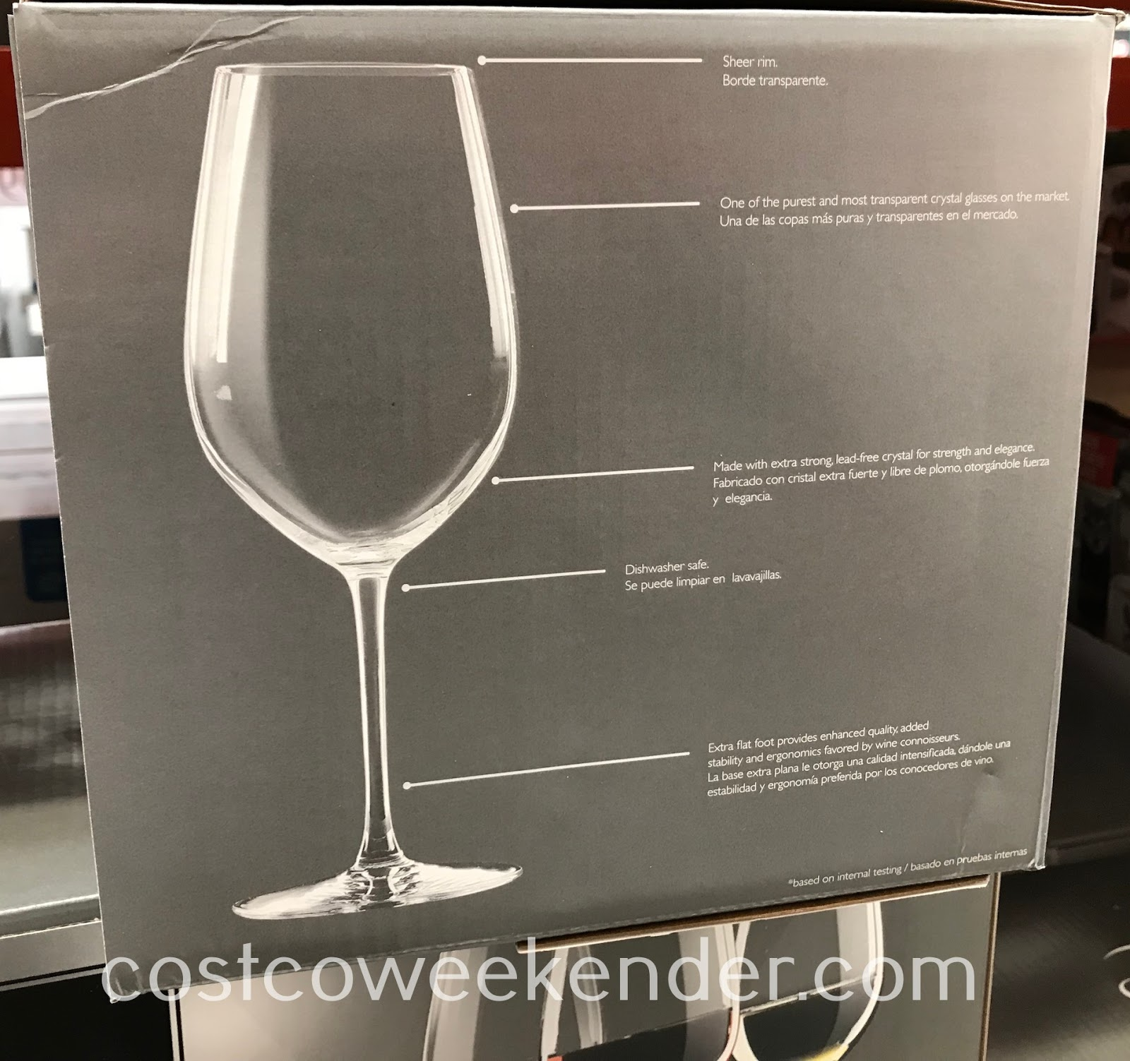 Costco 1330777 - Any wine lover would love Chef & Sommelier Crystal Wine Glasses
