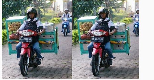 PATUT DI TIRU !! Fikri Mabruri Pelajar SMKN Negeri 2 Salatiga Bersekolah Sambil Jualan Bakwan Dan Bubur Kacang Hijau